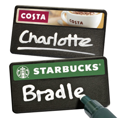 Chalkboard Name Badges